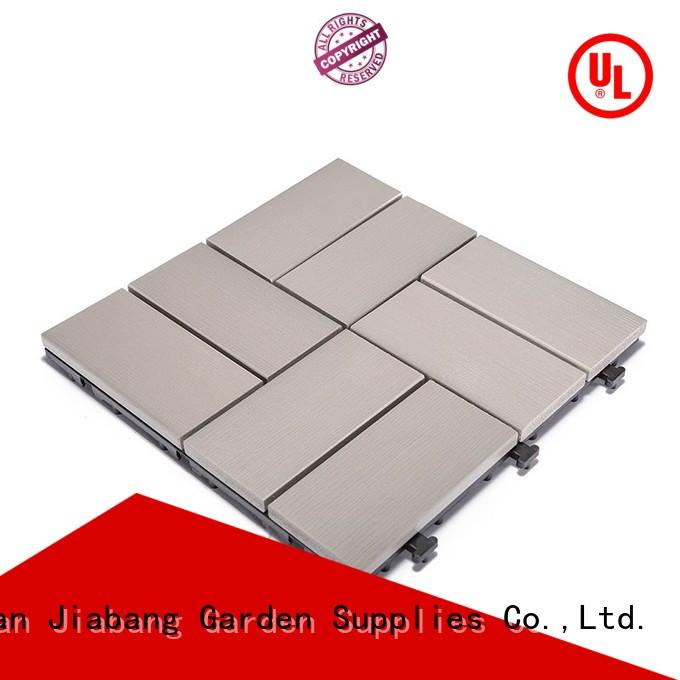 wholesale plastic decking tiles light-weight anti-siding home decoration