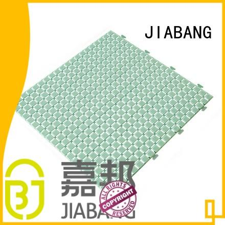 JIABANG protective plastic patio flooring tile for customization
