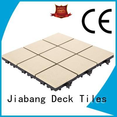 JIABANG balcony porcelain garden tiles cheapest factory price for patio