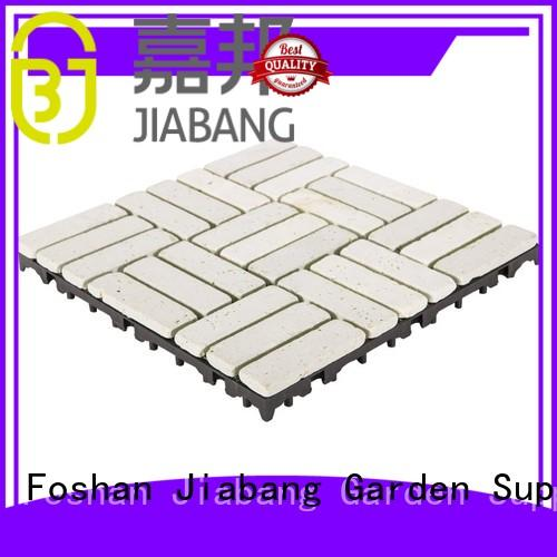 JIABANG hot-sale travertine tile pool deck high-quality for garden decoration