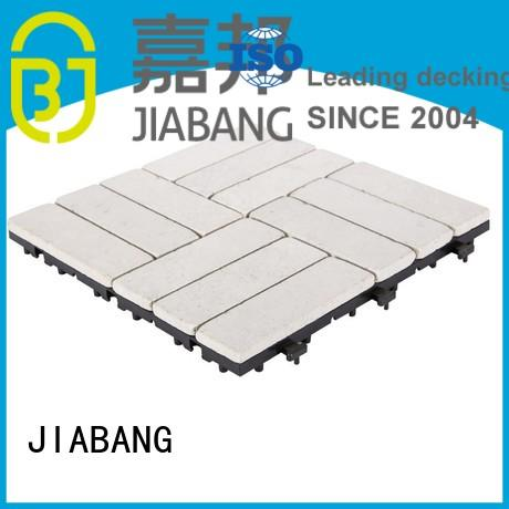 flooring snap tiles travertine deck tiles floor JIABANG Brand