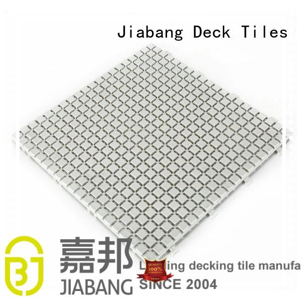 plastic snap together patio tiles anti-sliding kitchen flooring JIABANG