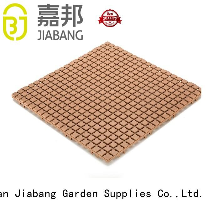 JIABANG outdoor plastic tiles for wholesale