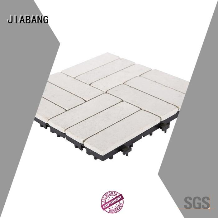 JIABANG outdoor travertine deck tiles wholesale for playground