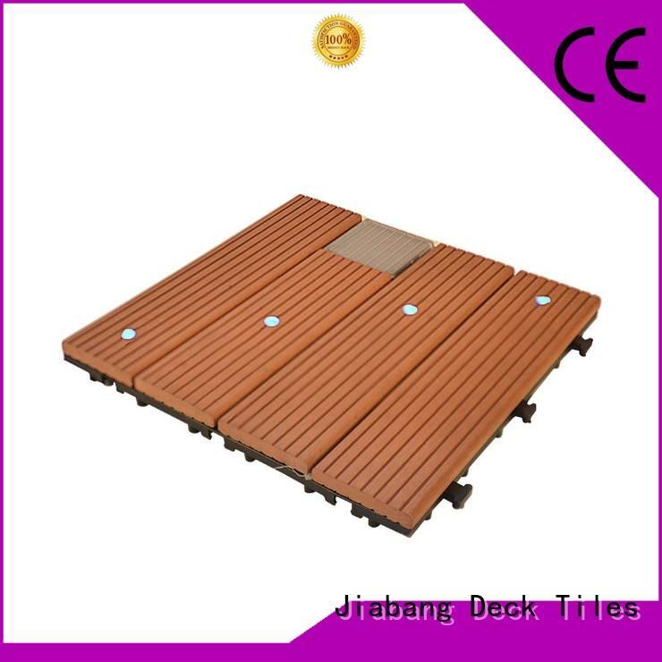 JIABANG eco-friendly balcony deck tiles garden lamp