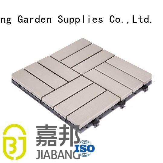 garden lightweight plastic decking tiles plastic JIABANG Brand company