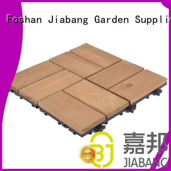 JIABANG convenient wood deck tiles gazebo for wholesale