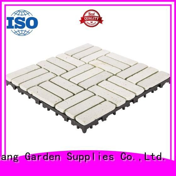 JIABANG limestone travertine tile pool deck wholesale from travertine stone
