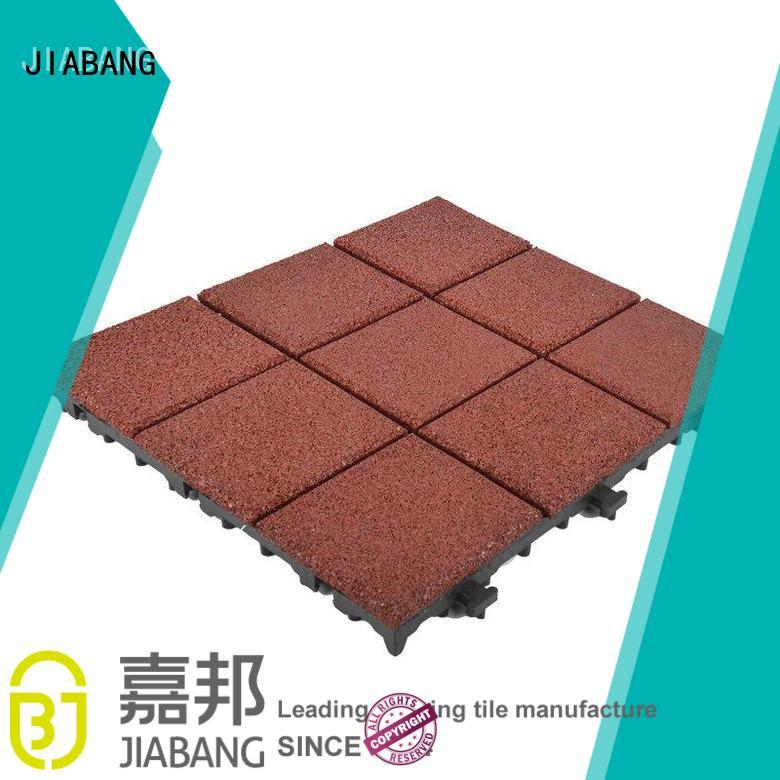 JIABANG highly-rated rubber gym tiles cheap for wholesale