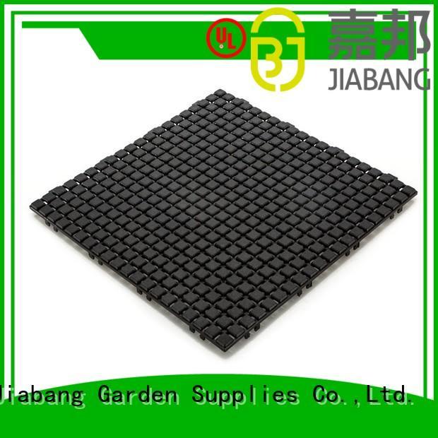 Hot plastic floor tiles outdoor flooring JIABANG Brand