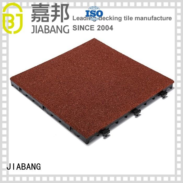rubber mat tiles floor interlocking rubber mats JIABANG Brand