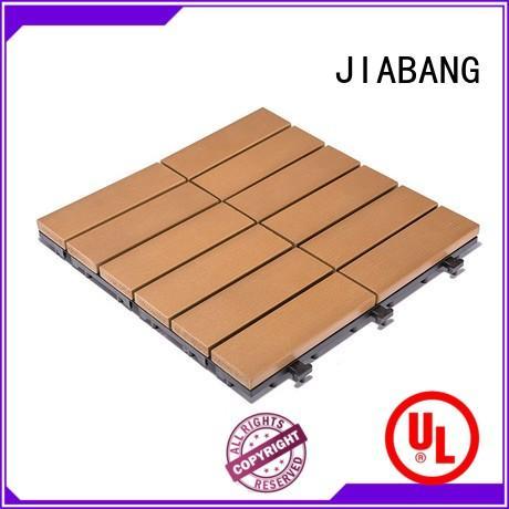 JIABANG light-weight plastic patio tiles anti-siding garden path