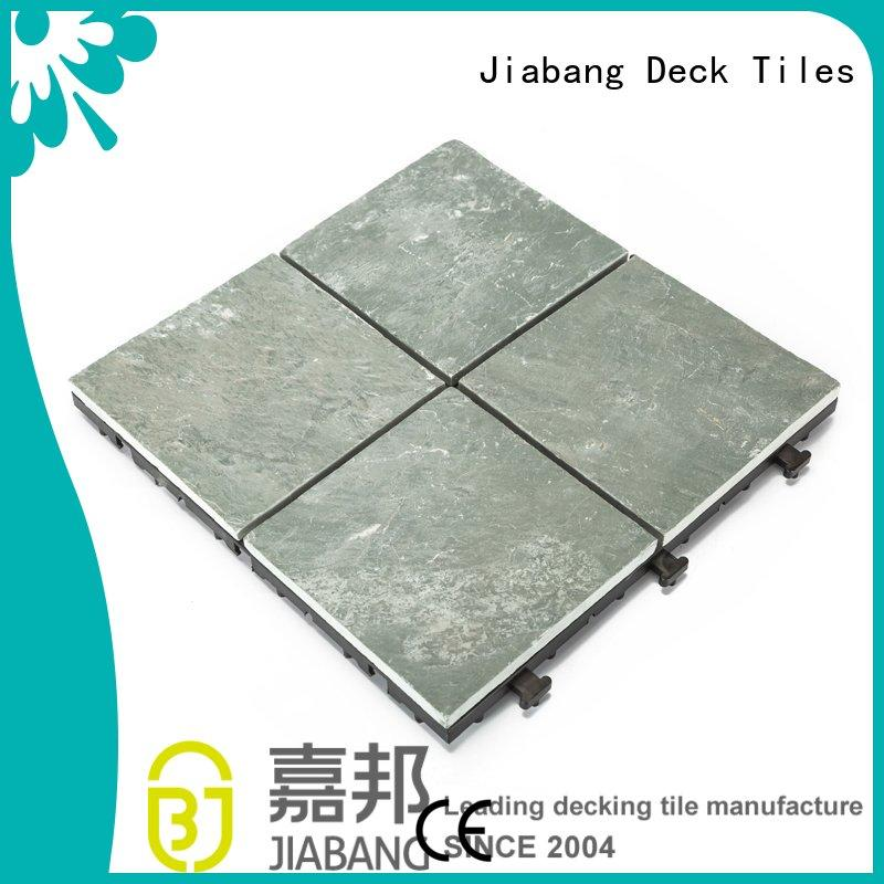 diy real stones snap together slate patio tiles floor decoration for patio JIABANG