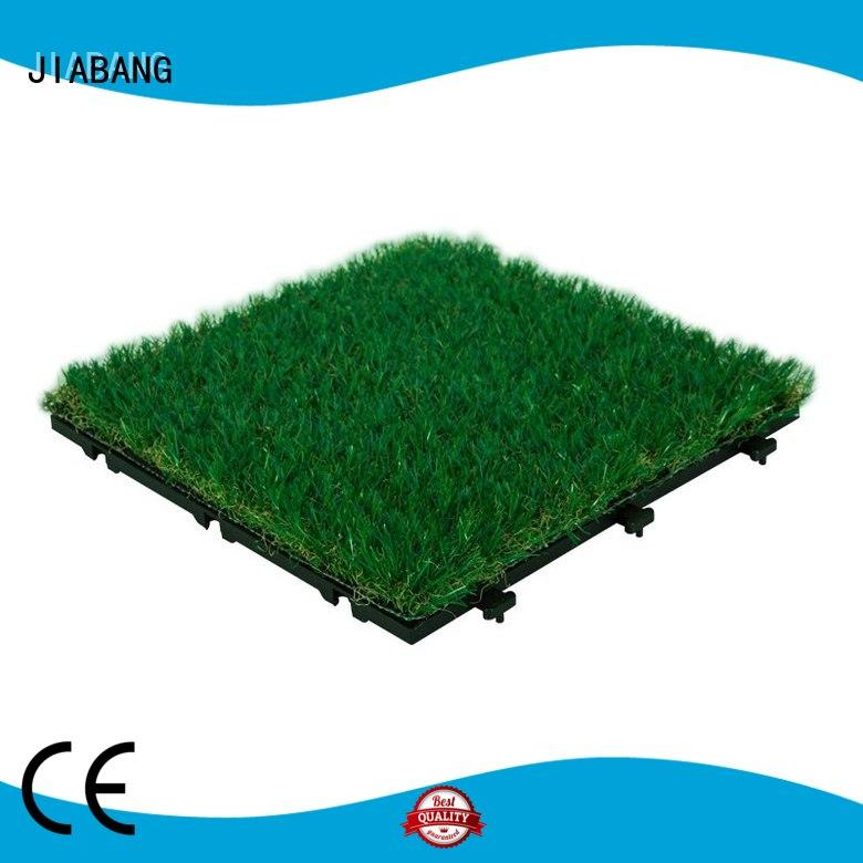 professional fake grass tiles hot-sale at discount balcony construction