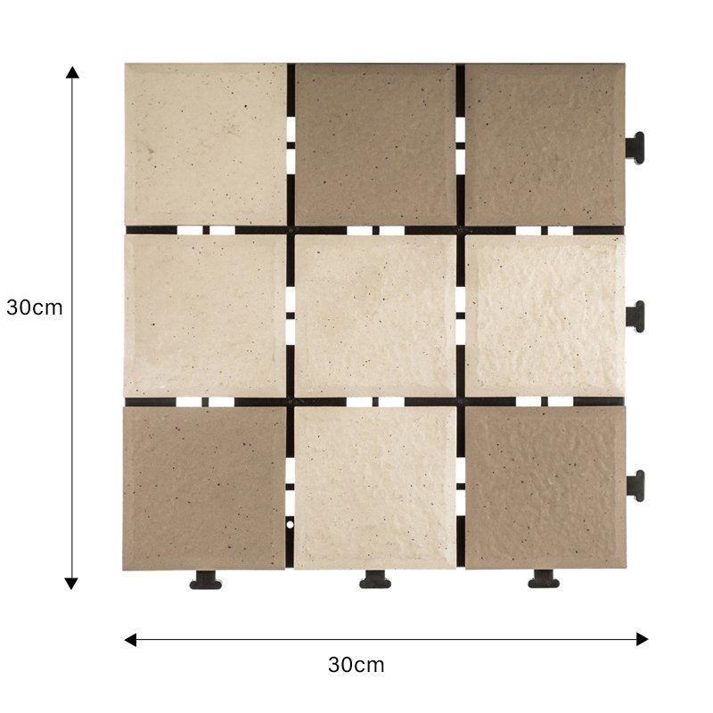 wholesale ceramic deck tiles 08cm ceramic cheapest factory price for garden-1