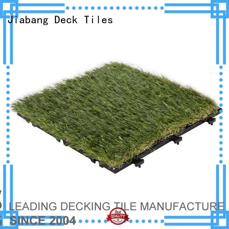 tiles fake grass squares backing antibacterial JIABANG company