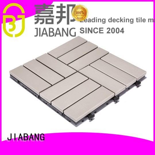 JIABANG Brand home pvc deck tiles deck supplier