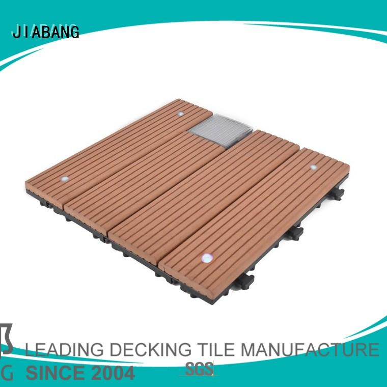 high-quality snap together deck tiles decorative ground