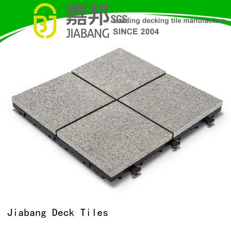 JIABANG Brand interlocking flamed granite floor tiles 12x12 supplier