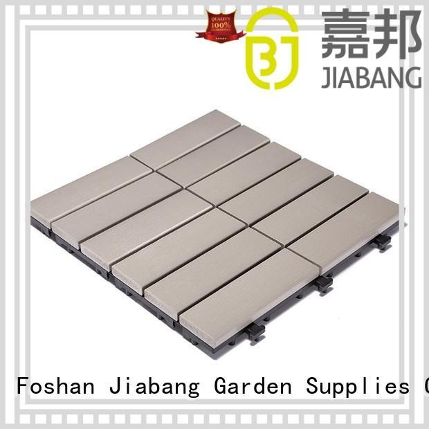 JIABANG light-weight plastic patio tiles popular home decoration