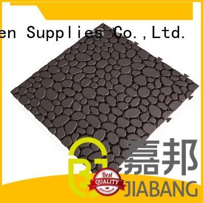hot-sale plastic decking tiles non-slip for customization