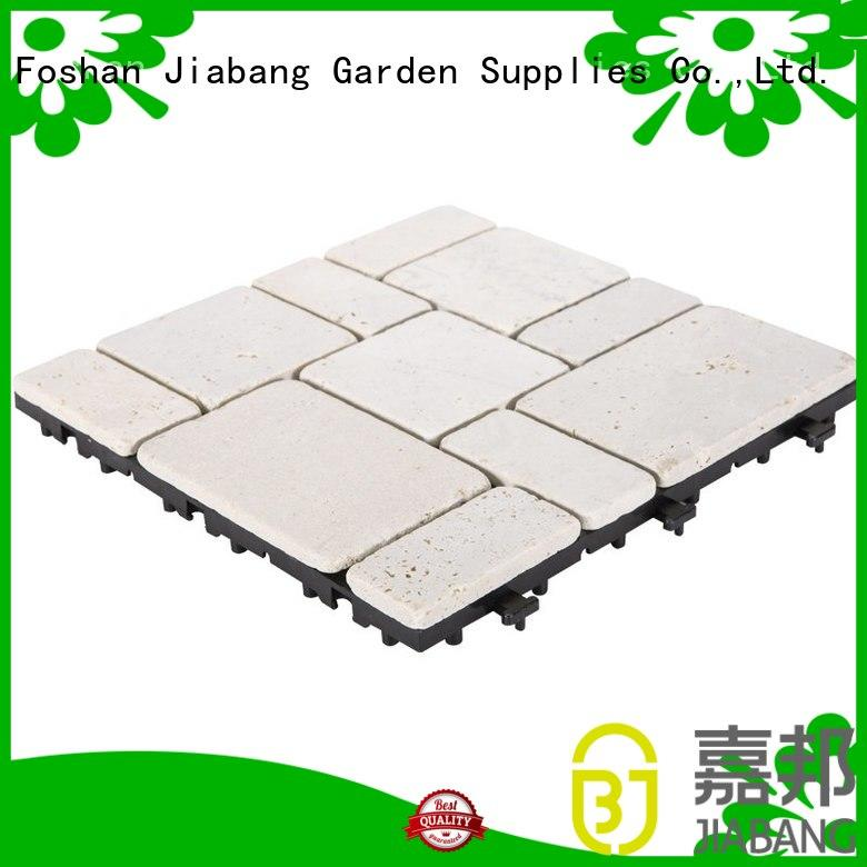 JIABANG hot-sale travertine tile pool deck at discount for garden decoration