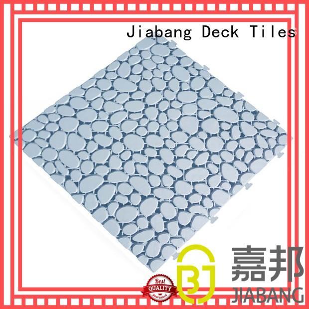decorative plastic garden tiles anti-sliding kitchen flooring