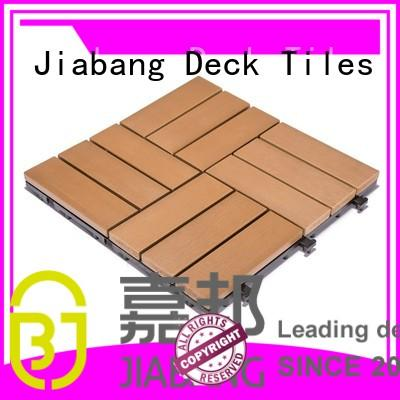 JIABANG wholesale plastic interlocking patio tiles popular home decoration