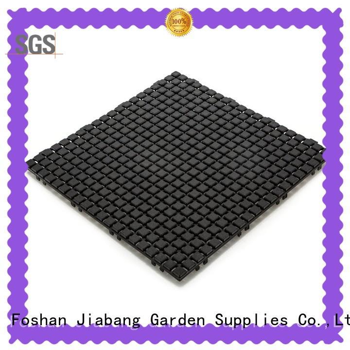 JIABANG interlocking plastic patio tiles non-slip kitchen flooring