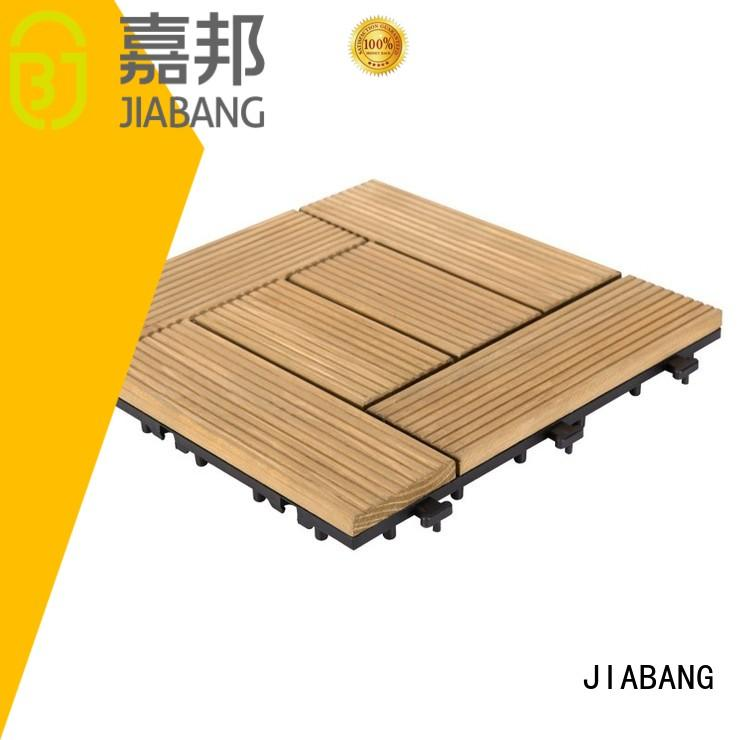 JIABANG diy wood wood deck panels flooring wooden floor