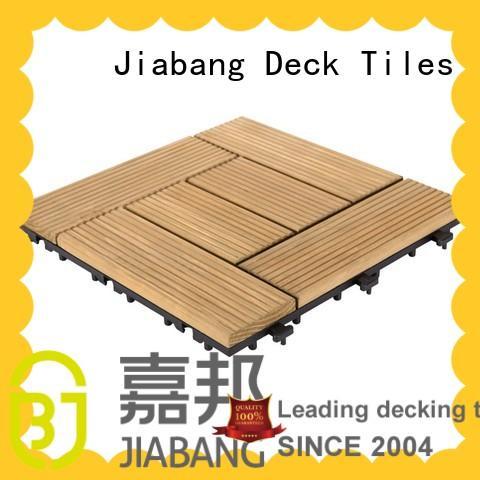 JIABANG natural wooden decking squares wooddeck wooden floor