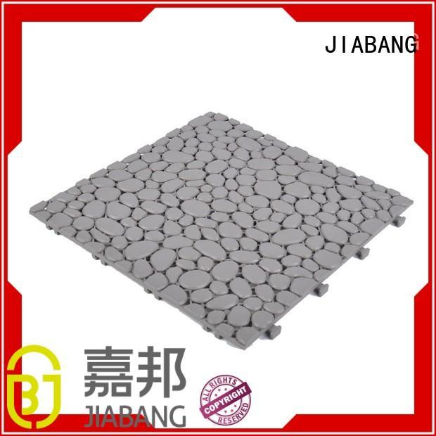 deck grey sand JIABANG Brand plastic floor tiles outdoor manufacture