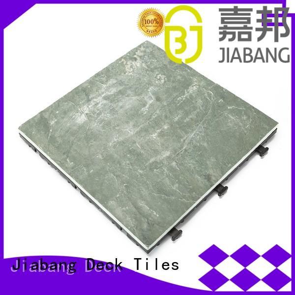 stone interlocking slate patio tiles stone for patio JIABANG