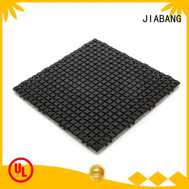 JIABANG plastic wood tiles bathroom floor