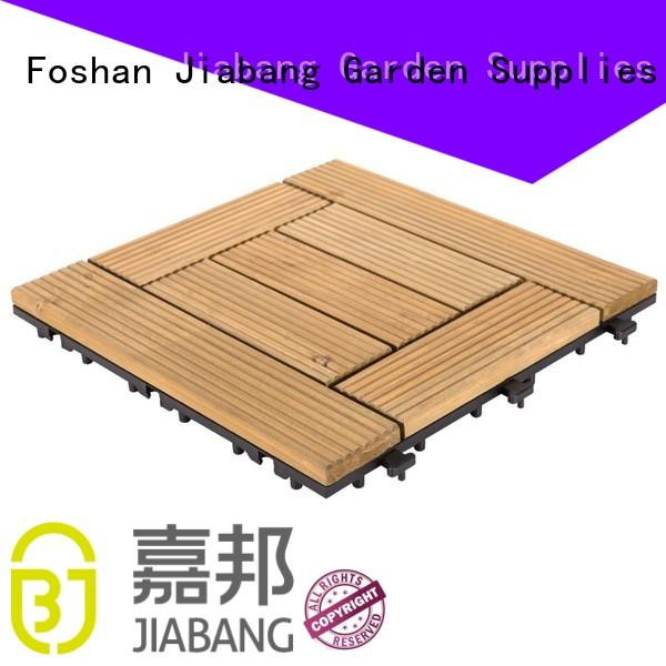 JIABANG adjustable wooden decking squares flooringwood wooden floor