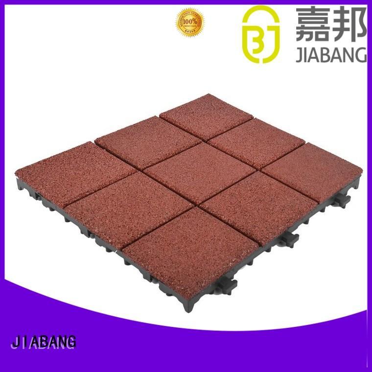 interlocking rubber mats composite house decoration JIABANG