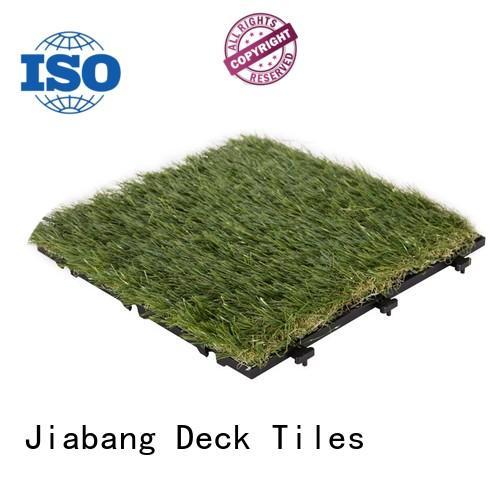 artificial turf deck tiles on grass hot-sale for customization