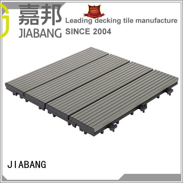 cheapest factory price garden decking tiles popular for wholesale