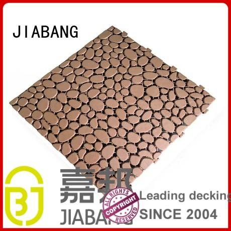JIABANG protective plastic decking tiles high-quality for customization