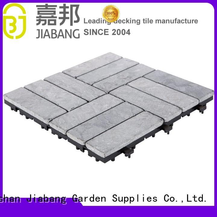 Online outdoor interlocking floor limestone tile TTS12P-GY