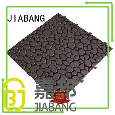 JIABANG bathroom floor outdoor plastic deck tiles high-quality