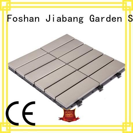 JIABANG wholesale plastic interlocking deck tiles light-weight garden path