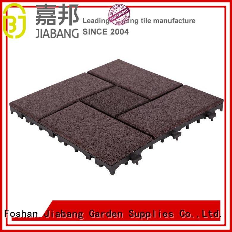 JIABANG composite interlocking rubber mats light weight house decoration