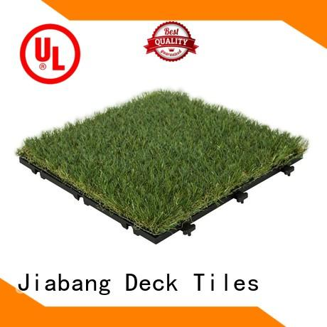 JIABANG top-selling deck tiles on grass garden decoration