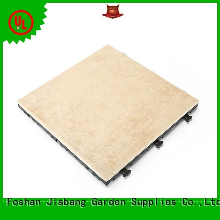 Durable frost ceramic balcony deck tiles C051