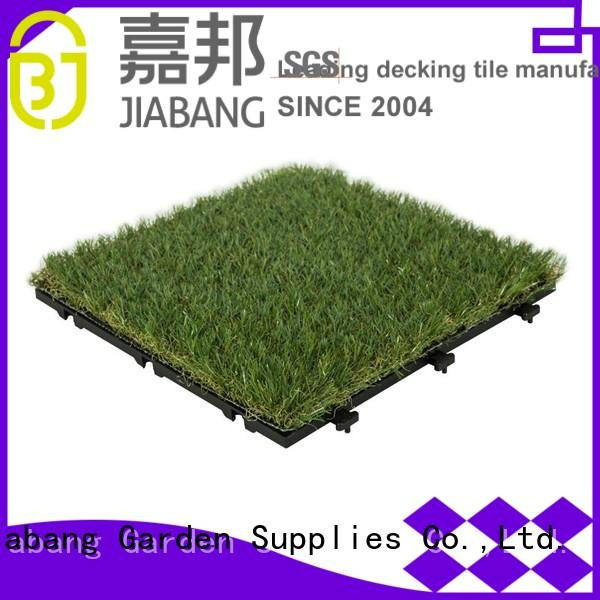 interlocking grass mats g004green balcony Warranty JIABANG