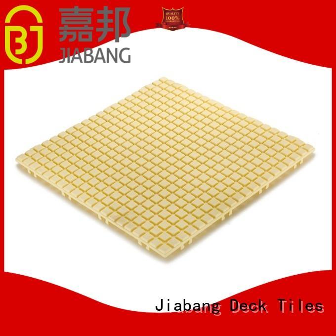 bathroom floor outdoor plastic patio tiles bathroom floor for wholesale JIABANG