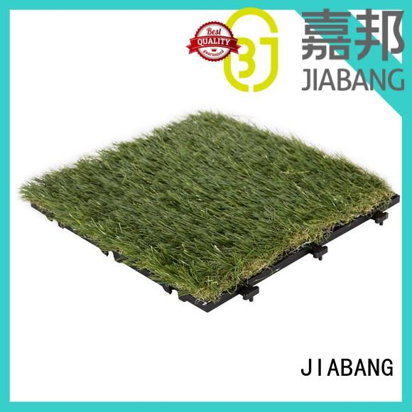outdoor wood tiles on grass hot-sale for wholesale JIABANG