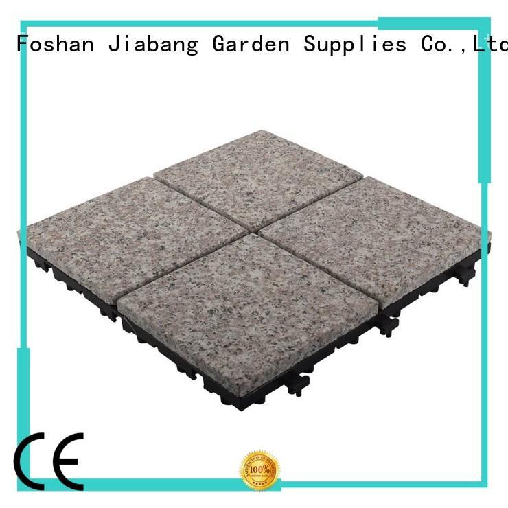 Waterproof garden granite stone deck floors JBV2644