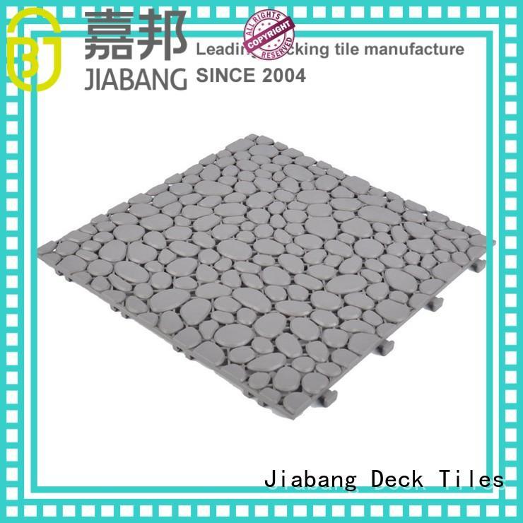 protective interlocking plastic patio tiles